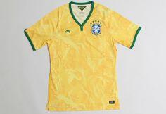 Nike SB CBF Brazil Home Stadium Football Shirt