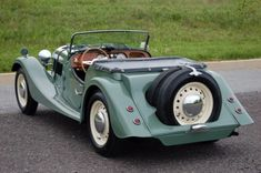 1953 Morgan Plus Four Roadster.