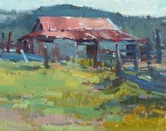 Jill Carver - Work Zoom: Texas Barn