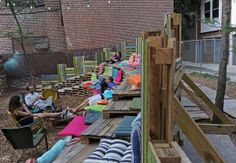 Changing Skyline: Pop-up parks perk up dull city spots