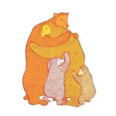 a bear hug.