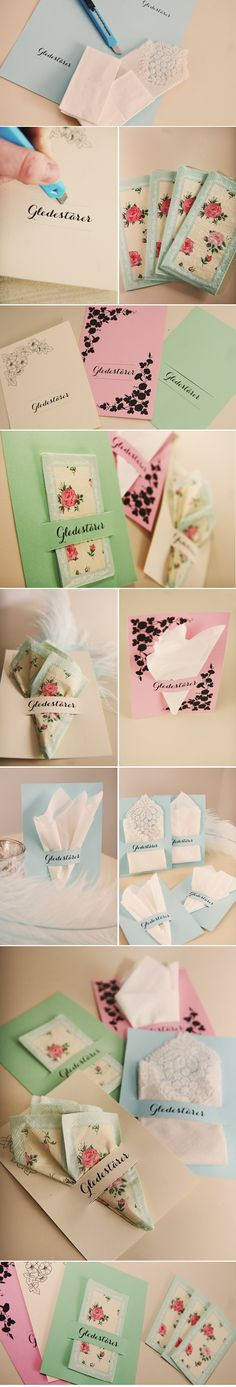 program DIY for the tissues for happy tears