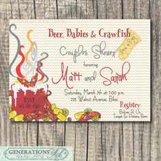 8 Best Couples Shower Images Couple Shower Shower Party Crawfish