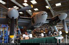 De Havilland Mosquito FBVI - TA122 by graham.wood.14661