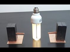 c9cd441f437 free energy electricity generator using Magnet and copper wire self running  12v light Bulb 2018 - YouTube