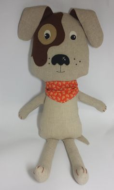 Dog Softie Pattern by KimikoDesigns on Etsy, $10.00