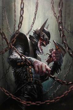 Venom Batman..? Pretty cool looking either way!