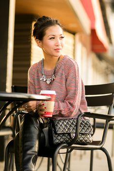Cozy Coffee :: Chunky sweater