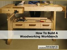 DIY WOOD WORKING WORK BENCH