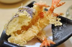 This is how to make Tempura Batter for Crispy Japanese Tempura Prawns and Tempura Vegetable. Learn how to fry Tempura Prawns.   Recipe ...