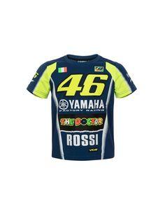 f8cf2645198 Tee-shirt Yamaha Racing Valentino ROSSI  Tshirt  VR46  ValentinoRossi   MotoGP