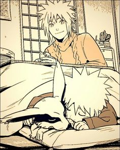 I want to read an au where kybi is shrunk and lives with Naruto and his living parents