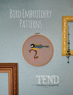 Tend magazine - Free bird patterns