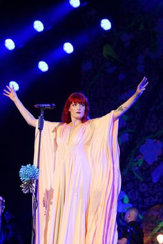Florence Welch, the Queen of the festival!