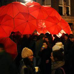 o que fazer com guarda-chuvas