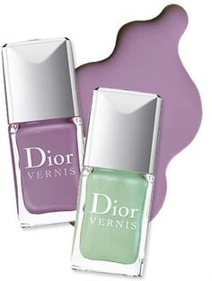 scented nail polish by Dior