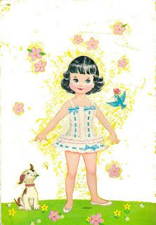 Bonecas de Papel: Petite Paper Dolls