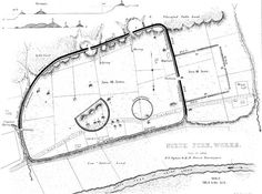 Map of the locations of burial mounds constructed by the