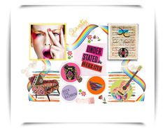 """""""Rock the Rainbow!!"""" by caritocaro on Polyvore featuring Kate Spade and WALL"""