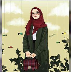 Live your life – Art Ideas Hijabi Girl, Girl Hijab, Muslim Girls, Muslim Women, Cartoon Pics, Girl Cartoon, Tmblr Girl, Hijab Drawing, Cute Girl Wallpaper