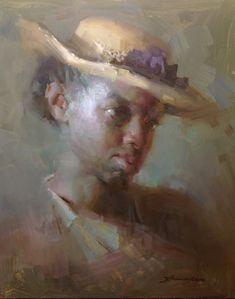 Zhaoming Wu, 20x16, oil on gesso board.