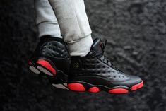 """Releasing: Air Jordan 13 Retro """"Black & Gym Red"""""""