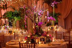Ritz Carlton Orlando Wedding Reception | Lisa Stoner Events