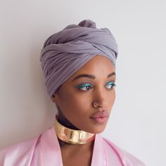 A beautiful headwrap, perfect for that springtime sunshine!Details: 100% ...