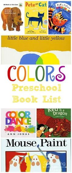 How To Produce Elementary School Much More Enjoyment Preschoolers Love To Learn About Colors. This Colors Preschool Book List Will Keep Your Little One Engaged And Help Him Learn The Colors Of The Rainbow. Preschool Color Theme, Preschool Curriculum, Preschool Themes, Preschool Classroom, Preschool Learning, Preschool Art, Toddler Preschool, Literacy Activities, Homeschooling