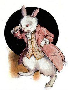 the White Rabbit - Margaret Tarrant,1916