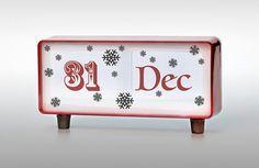 Photograph of a calendar displaying 31 Dec