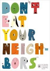 Don't eat (Day) Poster (DIN A1)