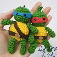 Patrón Tortugas Ninja