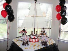 #Pirate birthday #Boy birthday party #Pirateparty