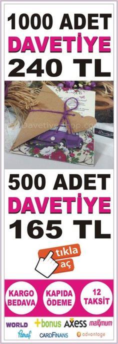 Davetiye 1000 Adet