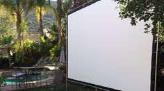 """""""Just thought I'd let you know we love the screen that your products let us build. It's over a year later and the screen still looks as good as new and never fails to get a """"Wow!"""" from friends and guests."""" —Martin Z. Newbury Park, CA (02/12/16)"""