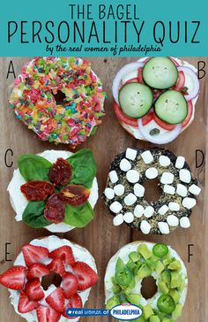 Does your favorite bagel match your personality? Take our quiz! Come taste our farm fresh bagels at inn name; www.website.com