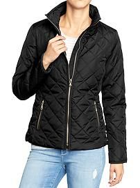 Womens Quilted Barn Jackets - Old Navy. Great smple jacket for day to day stuff! Old Navy Jackets, Fall Jackets, Quilted Jacket Outfit, Casual Fall Outfits, Pretty Outfits, Pretty Clothes, Hooded Jacket, Autumn Fashion, Clothes For Women