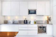 Modern White Kitchen Cabinet: Modern White Kitchen Cabinet