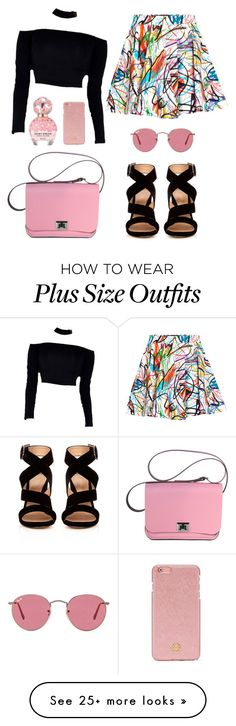 """""""Untitled #42"""" by fashionxx101 on Polyvore featuring Jeremy Scott, Gianvito Rossi, Ray-Ban, Marc Jacobs and Tory Burch"""
