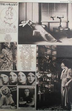 Page from Biba Magazine 1973