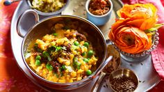 Yellow dhal with peas (arhar dhal matar) recipe : SBS Food