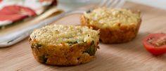 Snack saudável: muffin de quinoa e espinafre - Lucilia Diniz                                                                                                                                                                                 Mais