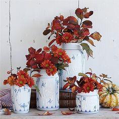 Norgesglasset krukke med lokk 40cl Bogstad-stråmønster - Hyttefeber.no Floral Wreath, Wreaths, Fall, Glass, Home Decor, Products, Autumn, Floral Crown, Decoration Home