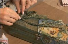 ciekawy sposób na postarzanie drewna