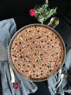 καστανάτσιο (castanaccio) γλυκό κέικ της Τοσκάνης   Pandespani Acai Bowl, Breakfast, Cake, Food, Pie Cake, Pastel, Meal, Eten, Cakes