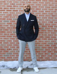 e01834a418 Navy suit double breasted From The Style O.G. YouTube Channel. Style Advice  Videos Fashion Advice