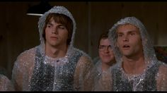 Dude Where's My Bubble Wrap suit? Cult Movies, Funny Movies, Good Movies, Car Costume, Costumes, Bubble Wrap Suit, Young Ashton Kutcher, Movie Duos, Dude Where's My Car