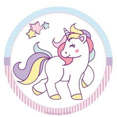 Unicórnio: Kit festa grátis para imprimir – Inspire sua Festa ® http://inspiresuafesta.com/unicornio-kit-festa-gratis-para-imprimir/