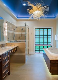 Unique bathroom lighting fixture